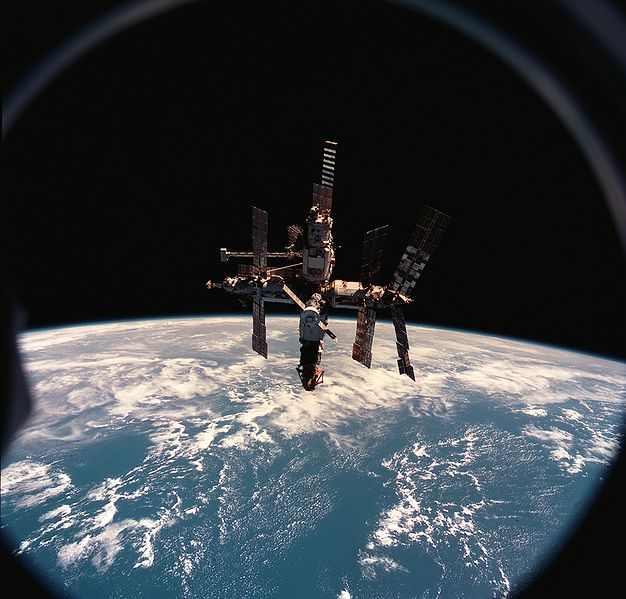 Mir Space Station